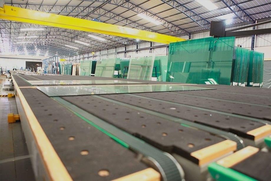 fábrica vidro temperado